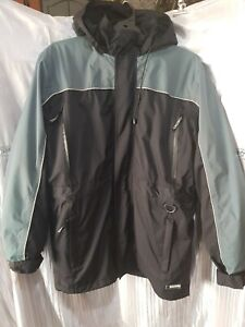 HUSKY SIZE S 92  JACKET, COAT, REMOVABLE LINING WITH HOOD, SUMMER/WINTER, BIKE