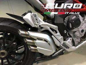MV Agusta Turismo Veloce /Stradale Silmotor Terminale Scarico Inox Omologato