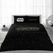 100% Cotton Star Wars Bedding Duvet Cover Set Double Size by DHL EXPRESS 4 PCS