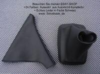 Opel Calibra Echtleder Farbe Schaltsack Handbremsmanschette Schaltmanschette