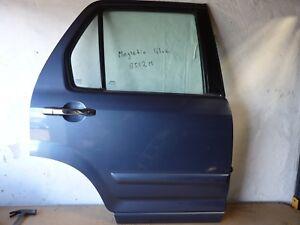 HONDA CRV EXECUTIVE 02-06 OFFSIDE REAR RIGHT DRIVER OSR DOOR MAGNETIC BLUE B512M