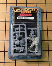 40k Rare oop Blister Vintage Metal Space Marine Blood Angel Veteran Sergeant