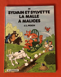 Sylvain And Sylvette 25 the Trunk To Tricks Lombard 1999 Very Good Condition NM