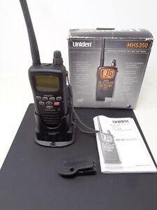 Uniden MHS350 Handheld Marine Two-Way VHF Radio w/ Charger