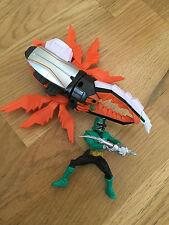 Power Rangers Super Samurai zord y figura Juego Naranja Escarabajo Toys