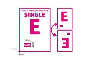 A4 Integrated Label Invoice Paper Sticky Address Sheets Single E Ebay   Amazon