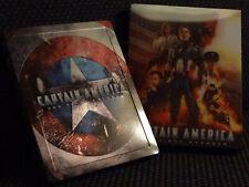 Captain America 1 deutsches Steelbook [Blu-ray] Blufans Lenticular Slip -- Top