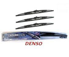 "FRONT & REAR DENSO WIPER BLADES -3PC SET- 21""/20""/12"" fits 2002-2006 HONDA CRV"