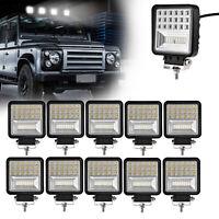 10X48W LED Arbeitscheinwerfer Flutlicht Nebel Lampe Strahler LKW SUV Jeep DC 12V