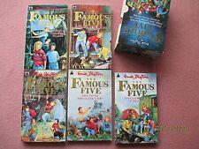 The Famous Five vintage boxed set Enid Blyton books 1-5 1993 Knight