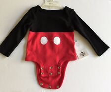 Disney Store Exclusive Mickey Mouse One Piece  Baby Size 6-12 Months Brand NEW