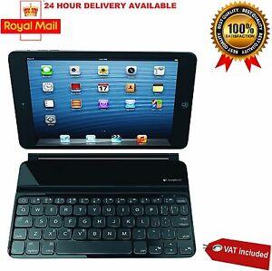 Logitech Ultrathin Keyboard Cover for iPad Mini - Black Brand New