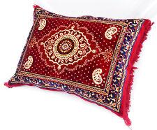 80x58 cm orientalische samtweiche Kissen sitzkissen bodenkissen cushion 17/Rot