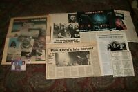 Pink Floyd rare news ads, promo, photos and vintage stories Gilmore Waters