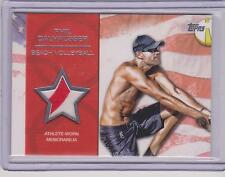 RARE 2012 TOPPS OLYMPIC PHIL DALHAUSSER SILVER RELIC CARD ~ 40/50 ~ VOLLEYBALL