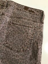 Kut From The Kloth Bridgette Ankle skinny jeans in leopard, size 6 Inseam = 25""
