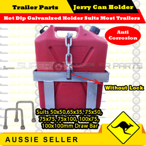 20L Hot Dip Galvanized Jerry Can Holder - BOAT BOX JET-SKI TRAILER CARAVAN