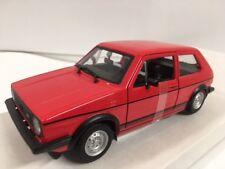 Volkswagen Golf MK1 GTI 1979 Red BURAGO 1:24 BU21089R