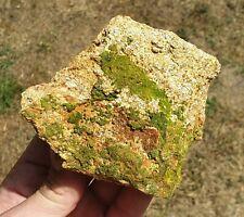 """Crocoite et Pyromorphite """"Le cantonnier"""" 403g France minéraux mineral Dordogne"""