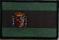 Spain Flag Patch W/ VELCRO® Brand Fastener Tactical Multi-Cam OCP Camo Emblem