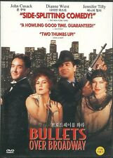 BULLETS OVER BROADWAY   NEW DVD
