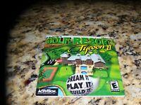 Golf Resort Tycoon II (PC, 2002) Mint Game