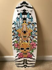 Vintage Rare BDS Limited SabreTooth II Skateboard Deck Bulldog Skates Alva, Etc