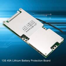 13s 45a 3.7v Lithium Battery Protection BMS PCB Board Cell With Balance Charge