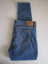 Womens Levi's 711 Skinny Stretch Jeans. Size 31 (MEASURE 12) Blue.