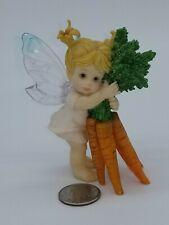 "Fairy garden figurine ""Thanks a bunch Fairie"" 2001 Gg Santiago"