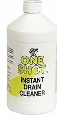 4 x One Instant Shot Liquid Drain Cleaner 1 Litre Clears Clogged Drains FAST 1L