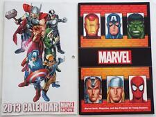 2 NEW MARVEL Booklet & App Program For Young Readers PLUS RARE 2013 Calendar