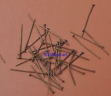 Wholesale 20mm 30mm 40mm 50mm Plated Eye Pin Flat Head Pin Ball Pin Finding