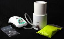 "2"" Powder Coating Fluid Bed w/BONUS Powder Paint and Jigs"