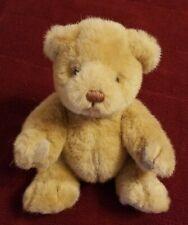 "Vintage 1983, 1985 Gund 9"" Jointed Beige Bear"
