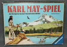 Karl May Spiel Ravensbureger 80er 90er Jahre Indianer Brettspiel Vintage a