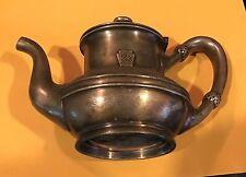 Vintage Penn Rail Road Silver Tea Pot