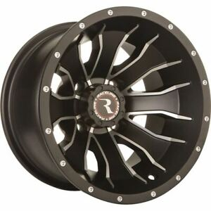 14x7, 4/110, 2+5 Raceline Mamba Wheel - A7747011-25