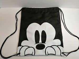 Disney Mickey Mouse Face Drawstring Bag Backpack