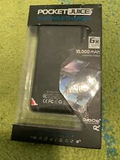 Tzumi - PocketJuice Endurance 10,000 mAh Portable Charger Power Bank - Black