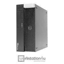 Dell T3600 Workstation Xeon E5-1620 16GB RAM AMD FirePro V7900 500 GB HDD W10