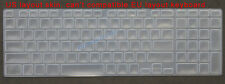 New Keyboard Skin Cover Protector for Toshiba Satellite S55-A S55D-A s55-a5257