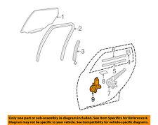 Scion TOYOTA OEM 04-06 xA Front Door-Window Motor 8571032190