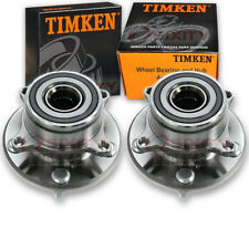 Timken Front Wheel Bearing & Hub Assembly for 2009-2015 Honda Pilot Pair yk