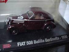 1/43 FIAT / 508 BALILLA BERLINETTA MM / 1000 MIGLIA N°45 / 1936 / ALTAYA / NEUVE