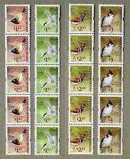 Hong Kong 2006 Definitive Stamp Coil Set X 5 - Birds