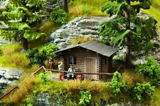 Noch 14342 Forest Lodge H0 Scale Model Kit. Included