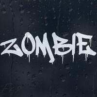 Bloody Zombie Car Decal Vinyl Sticker For Window Panel Bumper