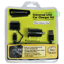 New Bracketron Universal Usb Vehicle Power Charger Ugc-364-Bl Apple iPhone 4 4S