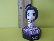 "iDOLM@STER  Miura Azusa 1.75""in Mini Figure in Cute Purple/White Dress Very Cute"